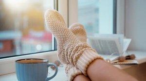 comfortabel warm